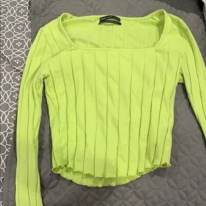 Tops - Like green long sleeve